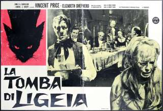 originale movie poster la tomba di ligeia regia roger corman con la