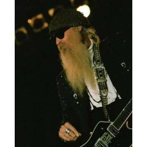 ZZ Top   Billy Gibbons   Photo Art Poster Print 2004