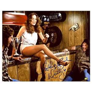 Catherine Bach Autographed 8x10 Dukes of Hazzard Bar Scene Photo