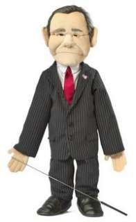 President George W. Bush Puppet Ventriloquist Doll
