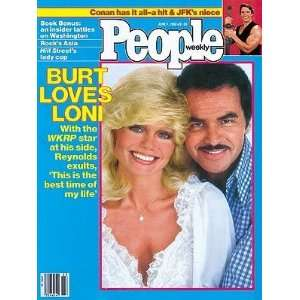 JUNE 7TH, 1982   BURT REYNOLD/LONI ANDERSON COVER  Books
