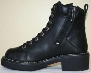 New In Box   HARLEY DAVIDSON Tracker Leather Boots Womens