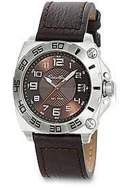 Eddie Bauer   Leather Strap Watch