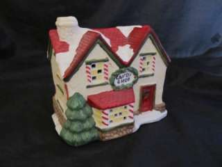 Windsor Village Collection Candy Shop Lighted Village House In Box