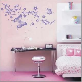 DIY Decorative Wall Paper&Art Sticker  butterfly ML31