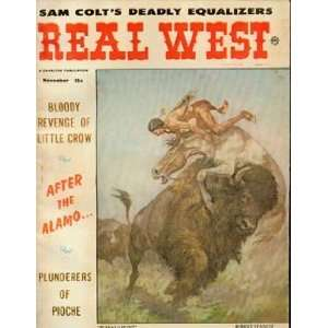 Real West Magazine: Sam Colts Deadly Equalizers (November 1961) (Sam