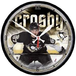 NHL Pittsburgh Penguins Sidney Crosby Wall Clock