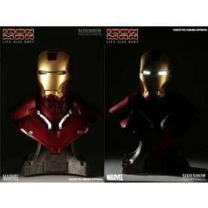 Sideshow Iron Man Life size Bust w/ Light up Eyes Toys