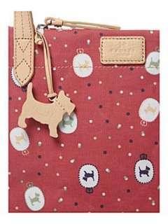Luggage  Handbags  Radley Wallace dog print small cross body bag
