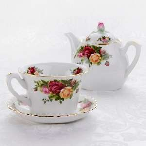 Royal Albert Old Country Roses Tea for One Set at HSN
