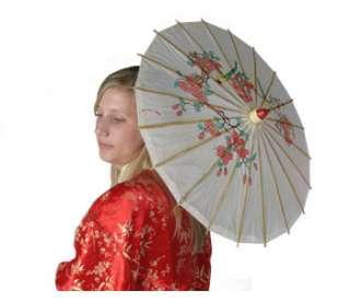 Chinese Umbrella   Adult Geisha Girl Costume Accessories