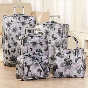 Papillon 5 piece Luggage Set by Travel Concepts   A Division of Heys