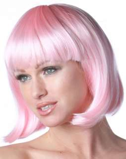 Deluxe Pink Charm Wig Adult  Wigs Women Hats, Wigs & Masks for