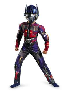 Transformers Optimus Prime Classic Muscle Child Costume for Halloween