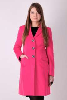 Pink Epsom Overcoat by Paul Smith Black   Pink   Buy Coats Online at
