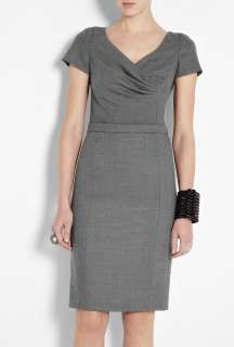 Moschino Cheap & Chic  Grey Flannel Ultimate Workwear Dress by