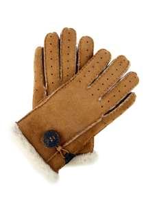 UGG Australia  Chestnut Bailey Button Sheepskin Glove by UGG
