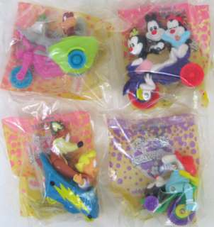 ANIMANIACS 1993 McDonalds Happy Meal Toy Set w Boxes