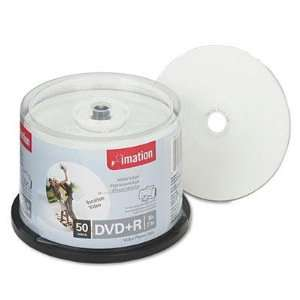 Imation DVD R Discs 4.7GB 16x Spindle White 50/Pack Full