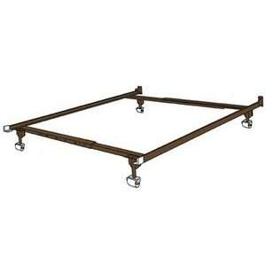 Universal Adjustable Metal Bed Frame Twin/Full: Home