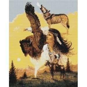 Maiden Animal Collage   Cross Sich Paern Ars, Crafs