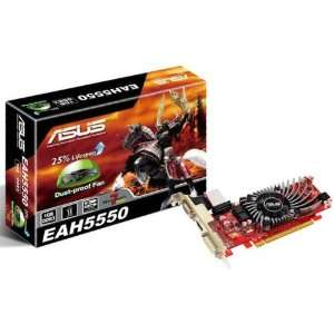 BRAND NEW ASUS. RADEON HD5550 800MHZ 1G DDR3 128 BIT. HIGH