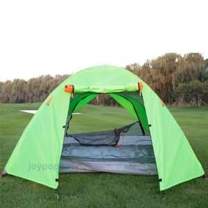 Backpacking Camping Hiking Tent with Rain Fly Green Sports & Outdoors