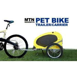 OutdoorGear Deluxe Bicycle Pet Dog Bike Trailer Carrier