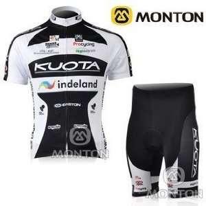 2010 new kuota team blue black cycling jersey+shorts bike