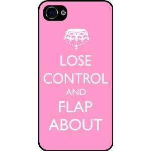 Around Light Pink Color Rubber Black iphone Case (with bumper) Cover