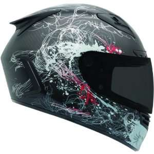 Bell Carbon Hess Full Face Motorcycle Helmet   Convertible
