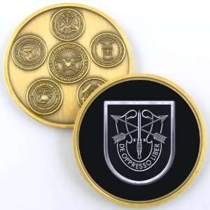 5TH SPECIAL FORCES GROUP PHOTO CHALLENGE COIN YP600
