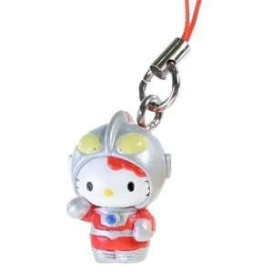 Hello Kitty as Ultraman Hello Kitty X Ultraman Charm Series (Japanese