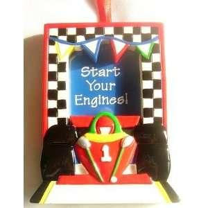 Nascar Race Car Photo Frame Electronics