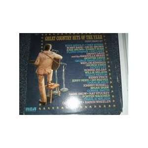 great country hits of the year LP VARIOUS Music