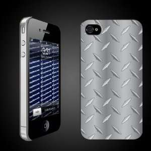 Diamond Plate Pattern   iPhone Hard Case   CLEAR