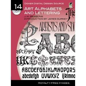 Source #14 Art Alphabets and Lettering (Dover Electronic Clip Art