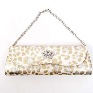 Wedding Long Clutch Bag Tote Handbag Chain Gold Baby