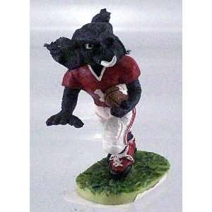 Crimson Tide Mini Dawg Figurine W/Ball in Left Hand Running Left