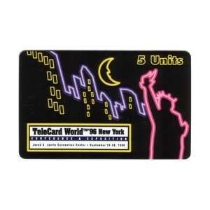 com Collectible Phone Card 5m TeleCard World 96 New York Conference