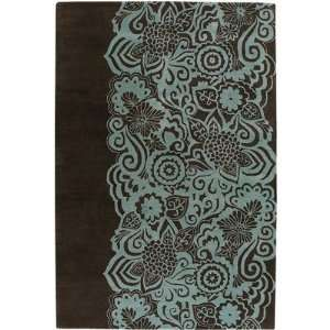 Aschera Hand Tufted Contemporary Blue Rug   ASC6400