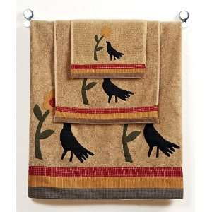 IHF 100% Cotton Country Meadow Bath Towel for Sale Set of