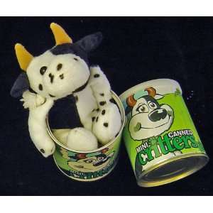 Mini Canned Critters Belle The Cow: Toys & Games