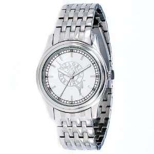 Florida Marlins Platinum President Mens Wrist Watch