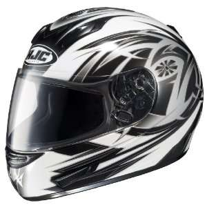 HJC CL 15 Cyclone MC 5 Full Face Motorcycle Helmet White/Silver/Black