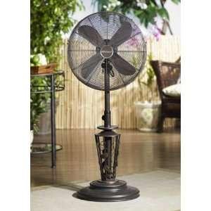 Vines   Adjustable Outdoor Standing Fan