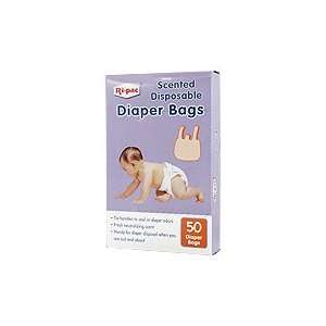 RI PAC SCENTED DISPOSABLE DIAPER BAGS   50 COUNT Baby