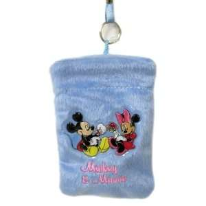 Disney Mickey & Minnie  Camera Cell Phone Holder Pouch
