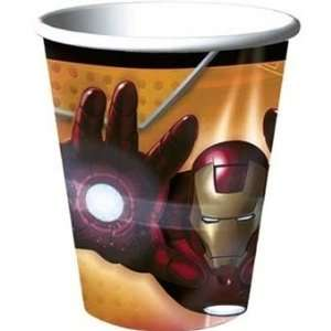 Iron Man Paper Cups 8ct Toys & Games