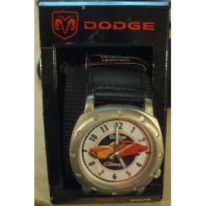 Dukes Of Hazzard   General Lee   Genuine Leather Watch